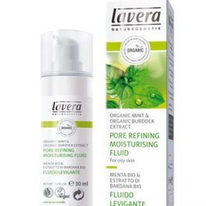 Lavera Organic Mint Porie Zuiverende Fluid