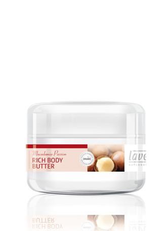 Lavera macadamia body butter