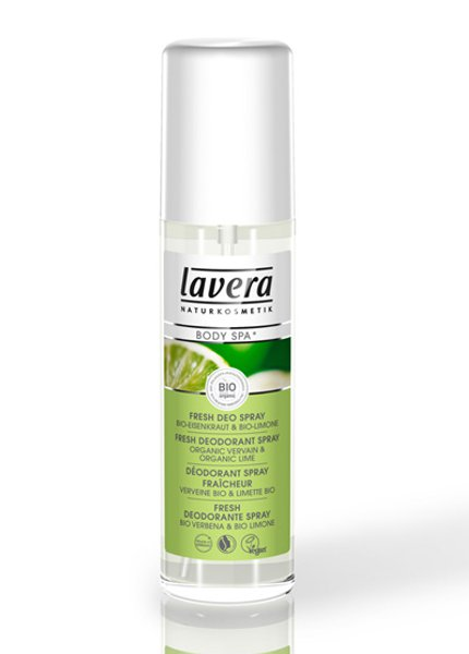 Lavera Lime Sensation deodorant spray