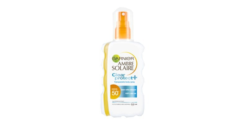 Ambre Solair Clear Protect 50+ zonnespray