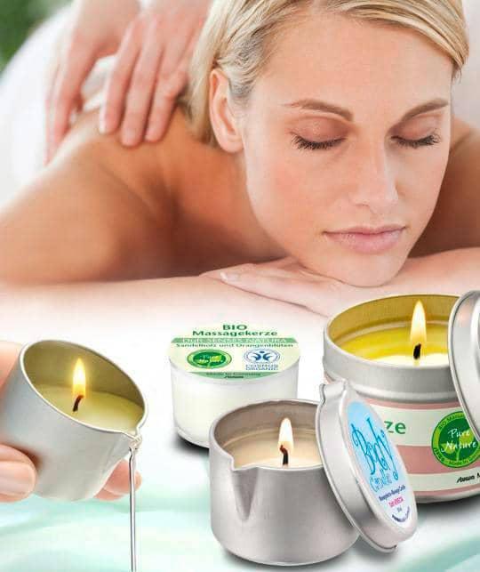 Stuwa Bio Massagekaars 6 Natuurlijke Geuren